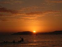 sunrise at Florianopolis