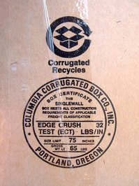 cardboard label