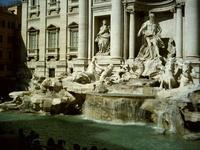 Trevi Fountain Rome Italy 3