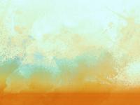 Orange Blue Paper
