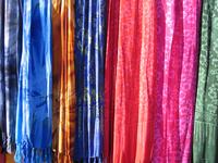 colourful batik shawls 2