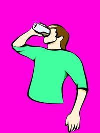 Drinking Milk 4