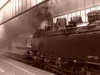 German Steam Locomotive