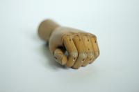 Wodden hand 1