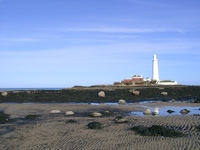 St. Mary's Island Whitley Bay Northumberland