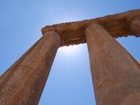 Columns Baalbek Lebanon