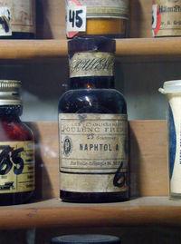 Ye Olde Naphtol Bottle