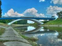"""Zamkowy"""" Bridge in Rzeszow (Aka """"New bridge"""")"""