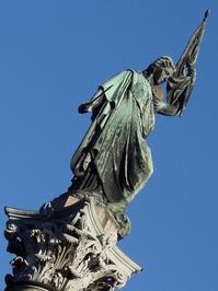 estatua en la plaza libertad 1