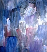 Texture Blue Paint