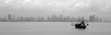 Panama fishing boat