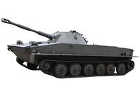 Polish amphibious tank