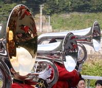 brass tubas