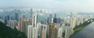 Hong Kong City by day
