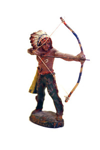 Indian toy soldier