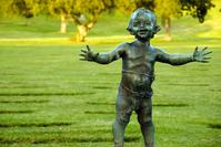 Bronze Babyland Statue 2