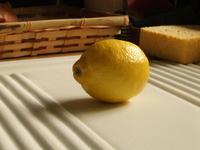 Lemon in the sink / Un citron dans l'evier