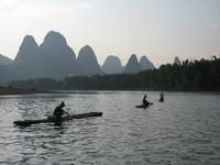 Traditional fishing Yangshuo, China