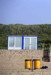 strand hut