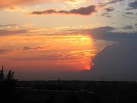 sunset in Lodz 5