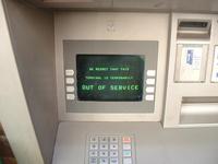 Broken Cash Point