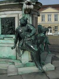 Schloss Charlottenburg Statue