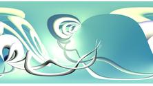 Abstract Milk II (waves)