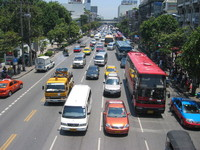 vehicles in Bangkok