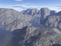 Mountain lakes - rough