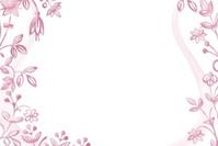 Pink floral design