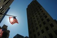 World Trade Centre USA Flag 9