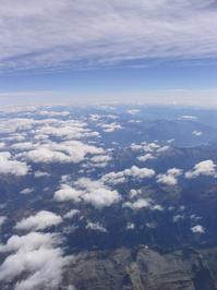 wiev from aeroplane