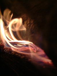 Fireplace - Fire Detail 2