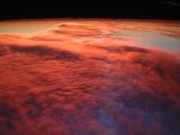 Sunset,From,Plane,Western,Australia