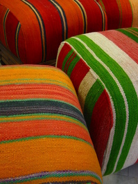 berber pouffes