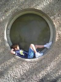 Boy in Circle