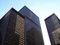 office buildings downtown