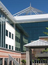Business Park Building - Glass Detail 1