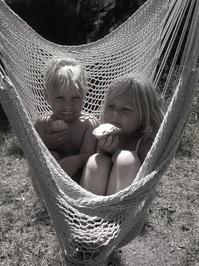 kids in hammock 2
