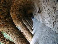 Parc Guell Gaudì Column
