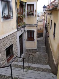 A beautiful street in Toledo