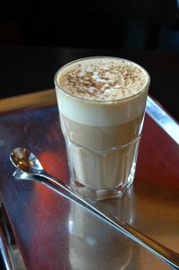 cafe latte brulee