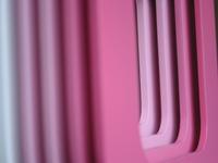 soft pink rainbow