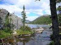 Mills Lake, Rocky Mtn. Nat. Park