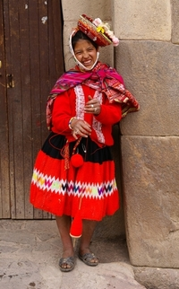 young Peruanian girl