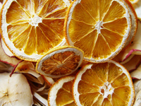 Dried oranges and apples 1