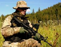 Peacekeeping soldiers