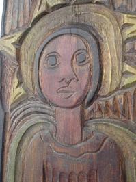 Anjo de madeira