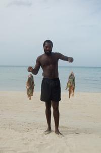jamaican fisher man