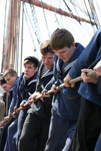 Sedov sailing ship 5